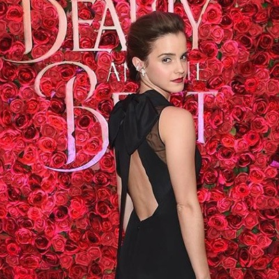 Beauty and the Beast New York premier press wall